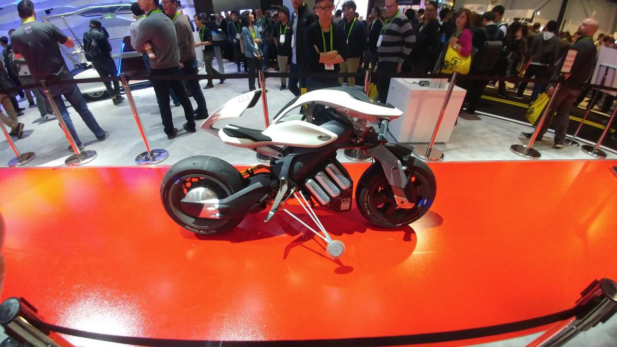 Remote Controlled Bikes at CES